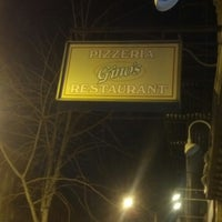 Photo taken at Gino's Pizzeria & Restaurant by Jason M. on 2/11/2014