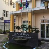 Photo taken at Maldives National University by Jomart O. on 1/31/2016