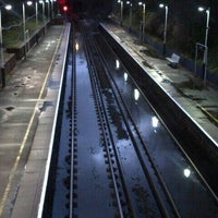 Photo taken at Fulwell Railway Station (FLW) by Adam H. on 1/6/2014