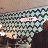 Photo taken at Café ART by Posp on 4/9/2015