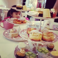Photo taken at Adorabelle Tea Room by Fritz S. on 1/4/2013