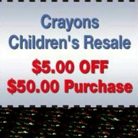 Photo taken at Crayons Children's Resale by Crayons C. on 3/21/2014