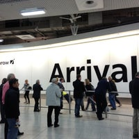 Photo taken at Terminal 4 by Marcelo A. on 11/3/2012