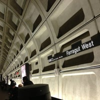 Photo taken at Farragut West Metro Station by Eric R. on 1/24/2013