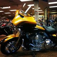 Photo taken at Adam Smith's Texas Harley-Davidson by Scotty C. on 9/26/2014