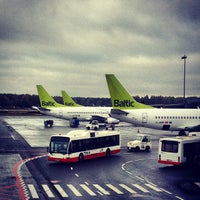 Photo taken at Riga International Airport (RIX) by Askolds on 10/7/2013
