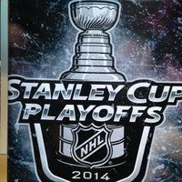 Photo taken at National Hockey League by Stephanie B. on 4/8/2014