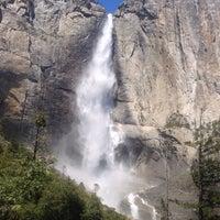 Photo taken at Lower Yosemite Falls by Alexander U. on 5/23/2016
