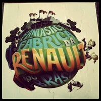 Photo taken at Renault do Brasil by Vinicius S. on 10/17/2012
