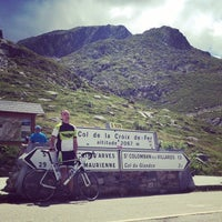 Photo taken at Col de la Croix De Fer by Dan R. on 7/15/2014