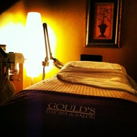 Photo taken at Gould's Day Spa & Salon-Cordova Towne Center by Annie .. on 2/9/2013