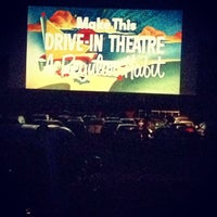 Photo taken at Wellfleet Drive-in and Cinemas by emily g. on 9/1/2013