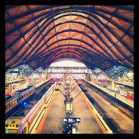 Photo taken at Southern Cross Station by Shaneil N. on 3/14/2013