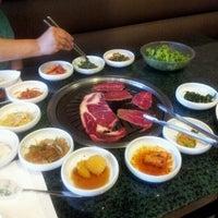 Photo taken at Aria Korean BBQ by Eric C. on 10/17/2012