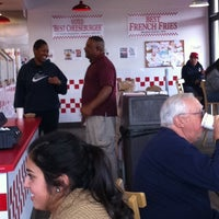 Photo taken at Five Guys by Reggie H. on 2/15/2012