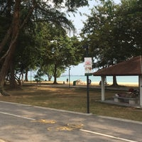 Photo taken at Marine Parade by Anne M. on 2/14/2015