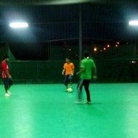 Photo taken at Galaxy Futsal Bangi by Hasril H. on 1/2/2013