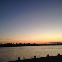 Photo taken at Evansville Riverfront by Rachel on 8/27/2015