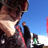 Photo taken at Val D'isere 3300 by Семён Р. on 3/6/2014