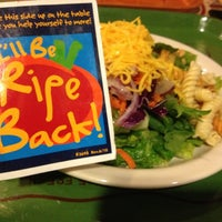 Photo taken at Sweet Tomatoes by Heather O. on 12/5/2012