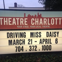 Photo taken at Theatre Charlotte by Kimberly H. on 3/22/2014
