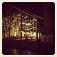 Photo taken at De Kas by Trent V. on 2/20/2012