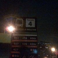 Photo taken at Paradero Escuela Militar by Ricardo C. on 11/29/2012