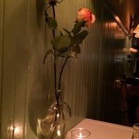 Photo taken at Cafe Jacqueline by Petek Y. on 10/11/2014