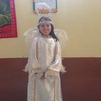 Photo taken at Iglesia de Nuestra Señora de Fátima by Yadira U. on 12/19/2015