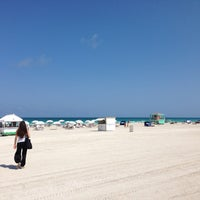 Photo taken at South Beach by Jeremy H. on 5/10/2013
