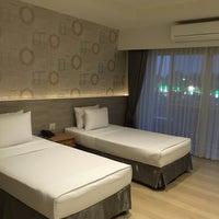 Photo taken at JUNTRA Resort & Hotel by ปัจเจก บ. on 12/21/2015