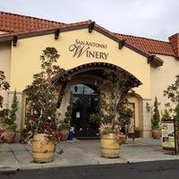 Photo taken at San Antonio Winery by Jacki M. on 12/29/2012