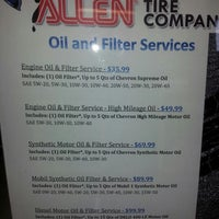 Photo taken at Allen Tire Company by Mike P. on 4/15/2013
