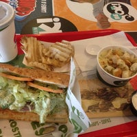Photo taken at Quiznos Sub by Claudia G. on 9/20/2014
