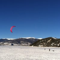 Photo taken at Dillon Reservoir by Kelly R. on 1/22/2013