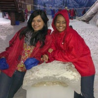 Photo taken at Snow World by Trisha G. on 12/25/2012