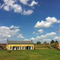 Photo taken at Fort Mifflin by Ryan A. on 6/1/2013