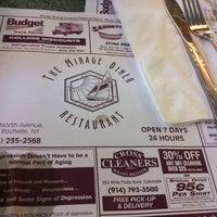Photo taken at Mirage Diner by Jason L. on 10/8/2012