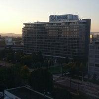 Photo taken at Sheraton Frankfurt Congress Hotel by Kevin F. on 9/22/2014