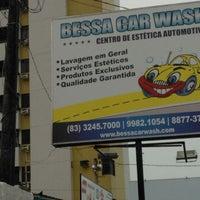 Photo taken at Bessa Car Wash by Djalma F. on 8/21/2014