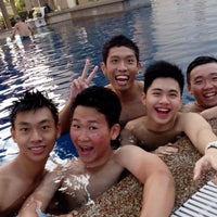 Photo taken at Symphony Park Swimming Pool by Wilson O. on 2/15/2014
