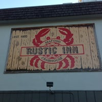 Photo taken at Rustic Inn Seafood Crabhouse by Gregg J. on 1/25/2013