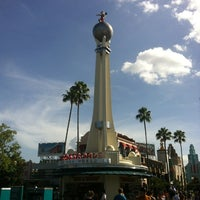 Photo taken at Crossroads of the World by Phil H. on 8/12/2013