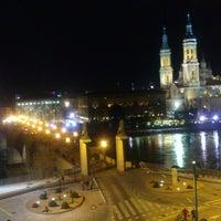 Photo taken at Hotel Ibis Zaragoza Centro by Lorena A. on 2/14/2014