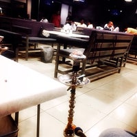Photo taken at Hookah Lounge Cafe by Mohammed A. on 3/12/2014