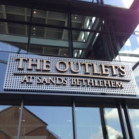 Photo taken at The Outlets at Sands Bethlehem by Max K. on 6/20/2013