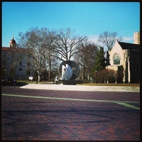 Photo taken at Villanova University by Andrew M. on 1/23/2013