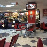 Photo taken at Burger King by ömür a. on 11/27/2012