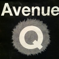 Photo taken at Avenue Q by Andrew T. on 1/6/2013
