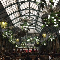 Photo taken at Covent Garden by Aurora A. on 12/2/2016